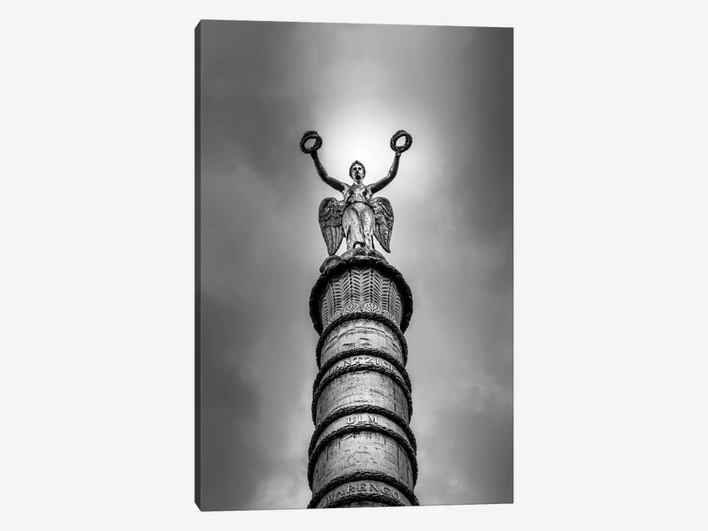 Paris In Black And White 1-piece Canvas Artwork