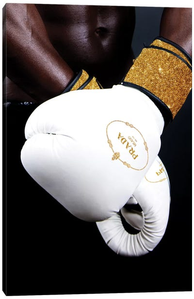 Prada Boxing Canvas Art Print