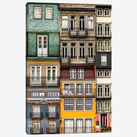 Porto Portugal I Canvas Print #VNC375} by Alexandre Venancio Canvas Print