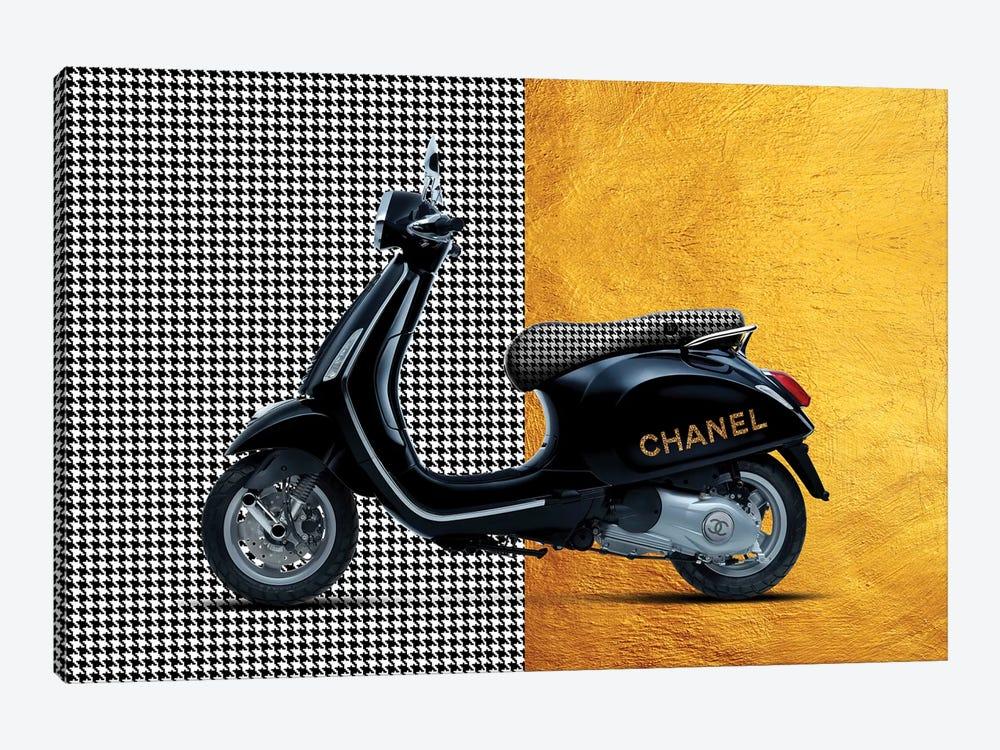 Vespa Chanel by Alexandre Venancio 1-piece Canvas Artwork