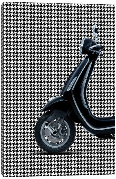Vespa Chanel I Canvas Art Print