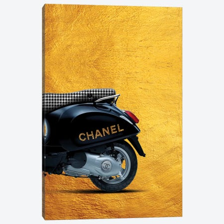 Vespa Chanel II Canvas Print #VNC39} by Alexandre Venancio Canvas Artwork