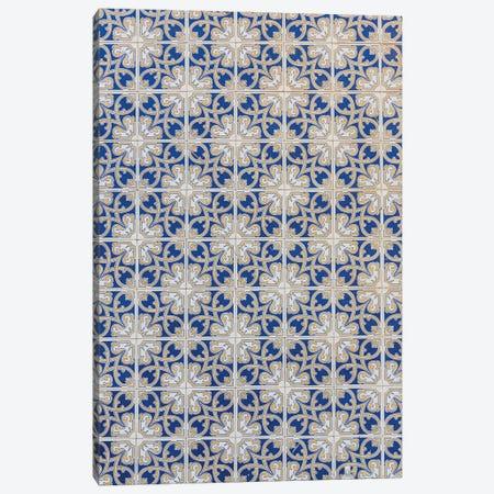 Blue And White Composition II Canvas Print #VNC400} by Alexandre Venancio Canvas Artwork