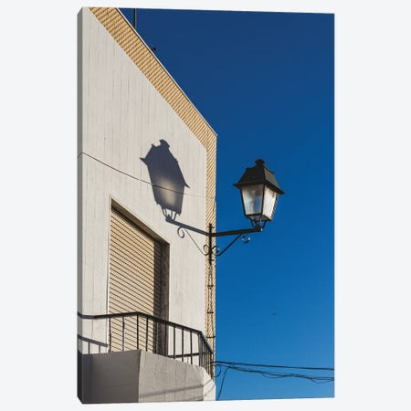 Blue And White Composition III Canvas Print #VNC401} by Alexandre Venancio Canvas Wall Art