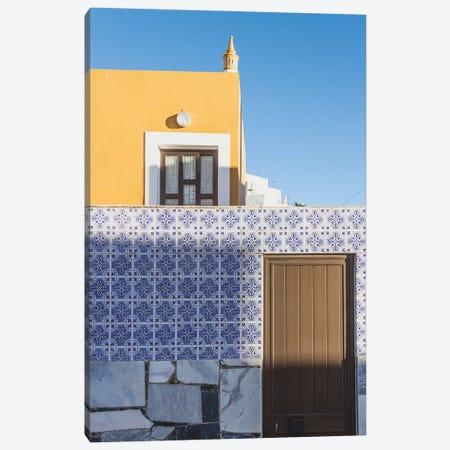 Blue And White Composition IV Canvas Print #VNC402} by Alexandre Venancio Canvas Wall Art