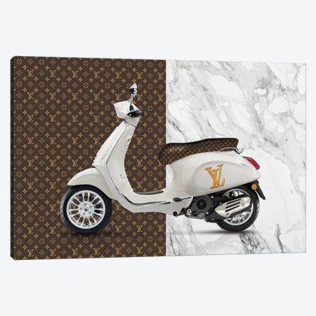 Vespa Louis Vuitton Canvas Print #VNC40} by Alexandre Venancio Canvas Print
