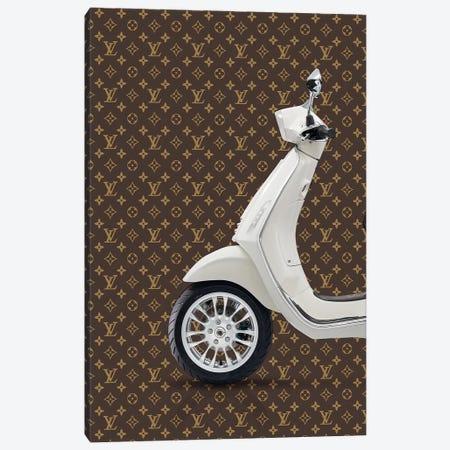 Vespa Louis Vuitton I Canvas Print #VNC41} by Alexandre Venancio Art Print