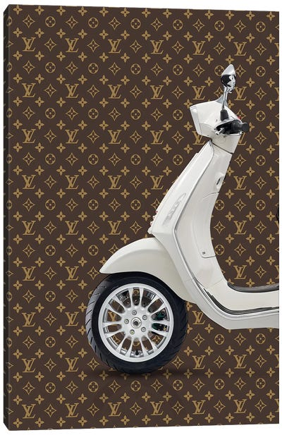 Vespa Louis Vuitton I Canvas Art Print