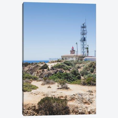 Portugal Remote Lighthouse Canvas Print #VNC426} by Alexandre Venancio Canvas Art Print
