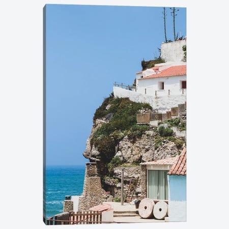 Azenhas Do Mar, Portugal Canvas Print #VNC428} by Alexandre Venancio Canvas Wall Art