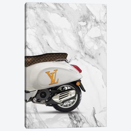 Vespa Louis Vuitton II Canvas Print #VNC42} by Alexandre Venancio Canvas Art Print