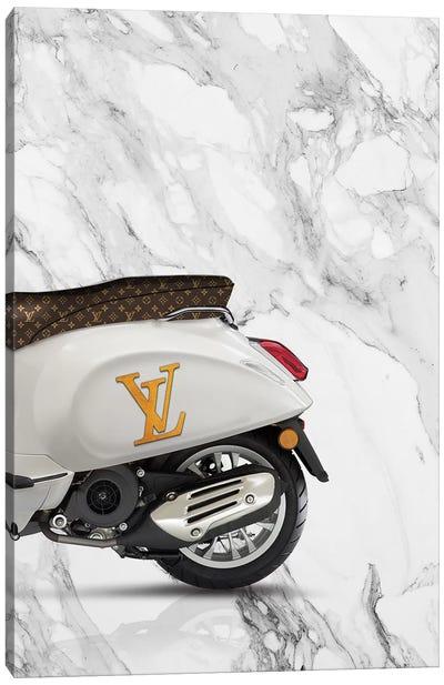 Vespa Louis Vuitton II Canvas Art Print
