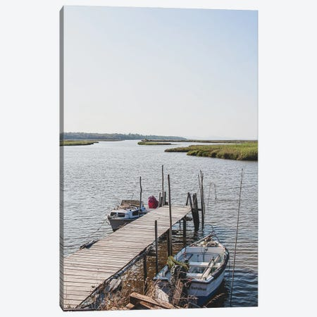 Portugal Comporta Boat I Canvas Print #VNC436} by Alexandre Venancio Canvas Art