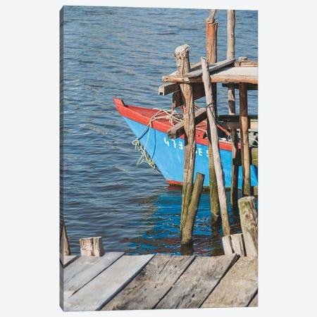 Portugal Comporta Boat II Canvas Print #VNC437} by Alexandre Venancio Canvas Wall Art