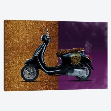 Vespa Versace Canvas Print #VNC43} by Alexandre Venancio Canvas Art Print