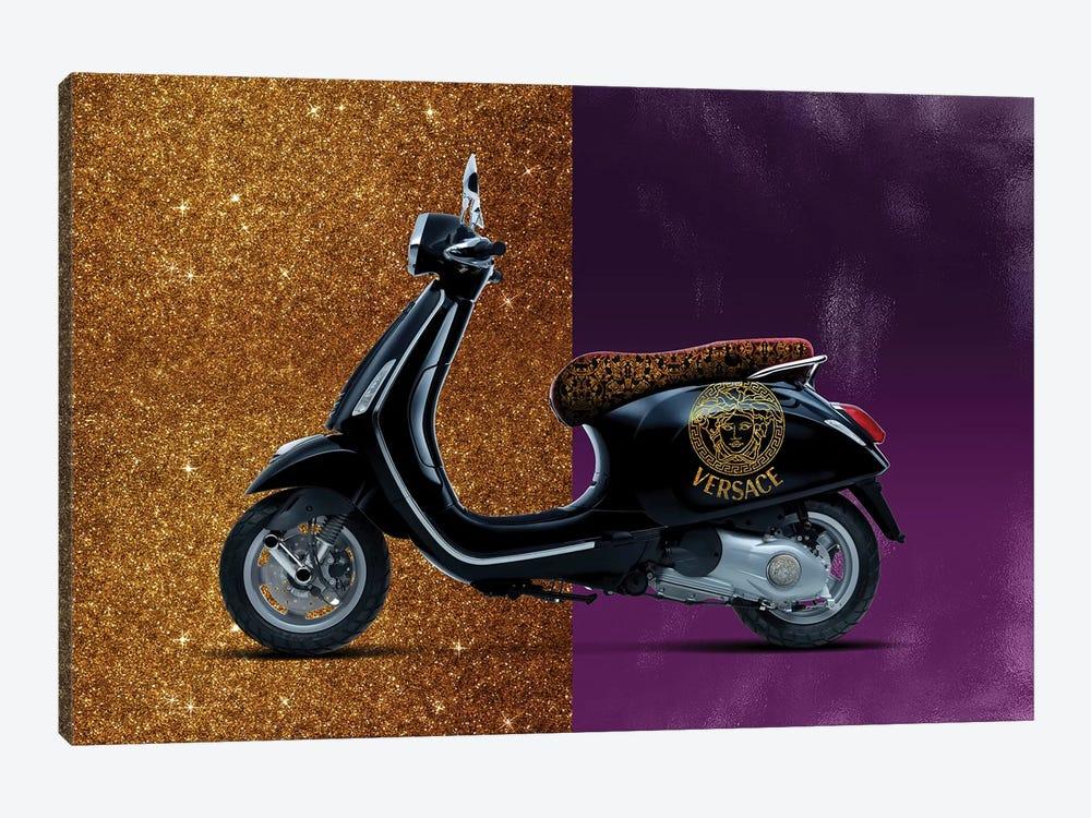 Vespa Versace by Alexandre Venancio 1-piece Canvas Art Print