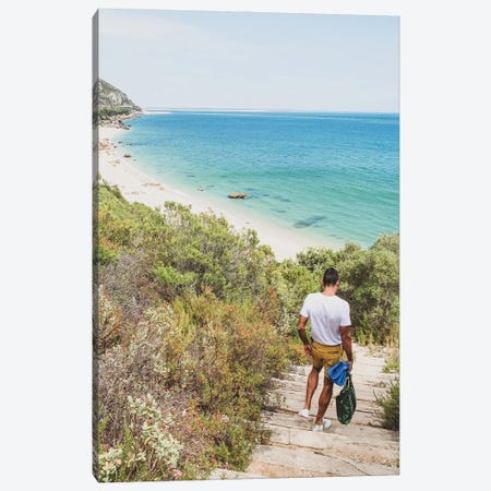 Portugal Path To The Beach Canvas Print #VNC442} by Alexandre Venancio Canvas Artwork
