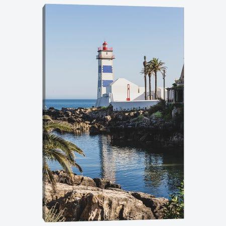 Portugal Cascais Lighthouse II Canvas Print #VNC450} by Alexandre Venancio Art Print