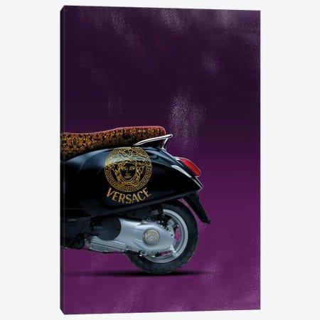 Vespa Versace II Canvas Print #VNC45} by Alexandre Venancio Canvas Wall Art