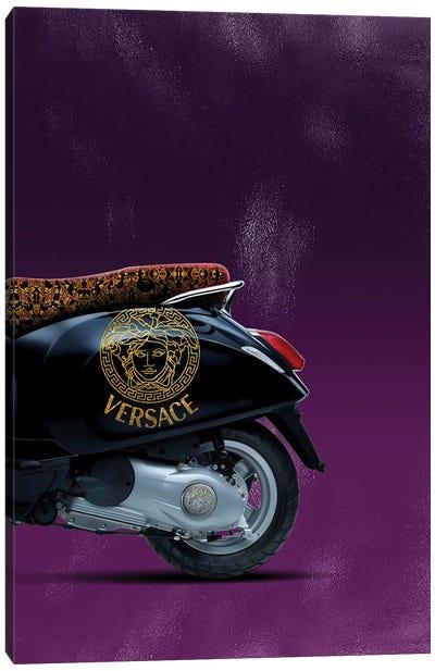 Vespa Versace II Canvas Art Print