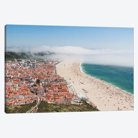 Portugal Nazaré Under The Fog Canvas Print #VNC493} by Alexandre Venancio Canvas Art Print