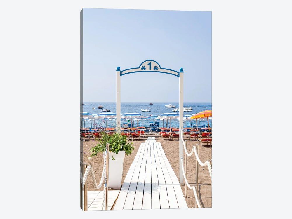 Amalfi Coast Beach by Alexandre Venancio 1-piece Canvas Art Print