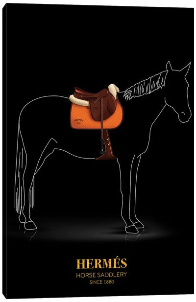Horse Saddlery, Hermés, Since 1880 Canvas Art Print