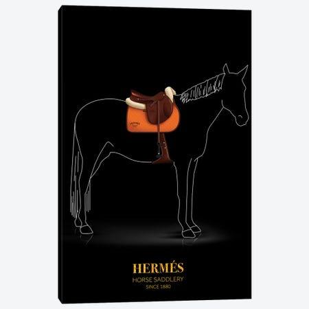 Horse Saddlery, Hermés, Since 1880 Canvas Print #VNC52} by Alexandre Venancio Canvas Artwork