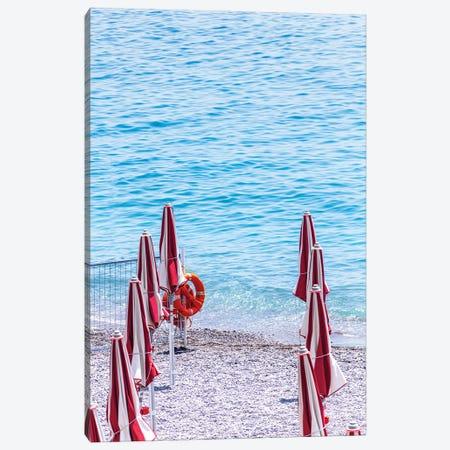 Amalfi Coast Beach II Canvas Print #VNC532} by Alexandre Venancio Canvas Wall Art