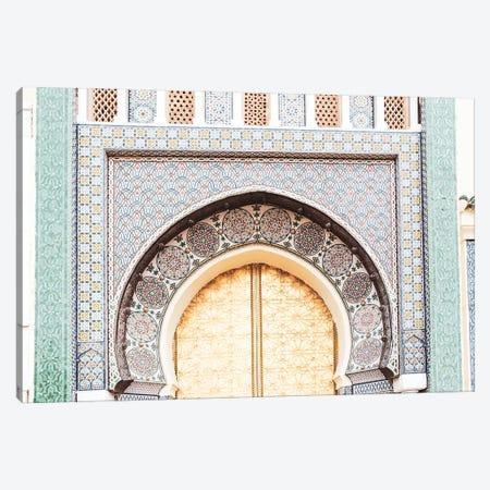 Morocco - Building Detail V Canvas Print #VNC552} by Alexandre Venancio Canvas Art