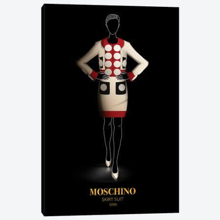 Skirt Suit, Moschino, 1990 Canvas Print #VNC55} by Alexandre Venancio Canvas Print