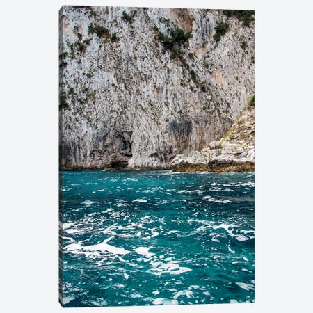 Cliffside Waves Canvas Print #VNC57} by Alexandre Venancio Canvas Art Print