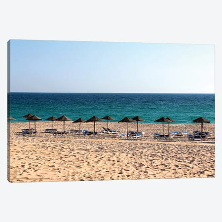 Relax By The Sea Canvas Print #VNC58} by Alexandre Venancio Canvas Wall Art