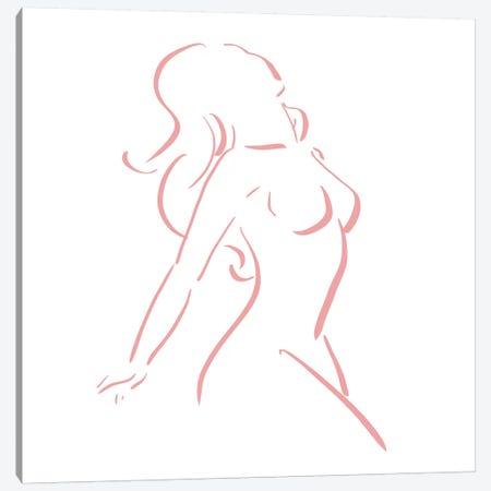 Line Figures VII Canvas Print #VNC60} by Alexandre Venancio Canvas Print