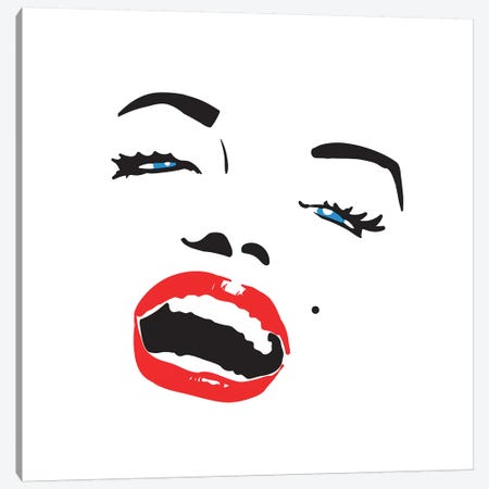 Marilyn Monroe I Canvas Print #VNC61} by Alexandre Venancio Art Print