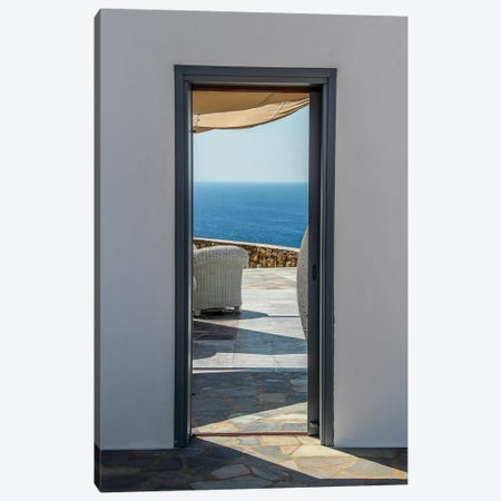 My Mykonos VIII 3-Piece Canvas #VNC62} by Alexandre Venancio Canvas Print