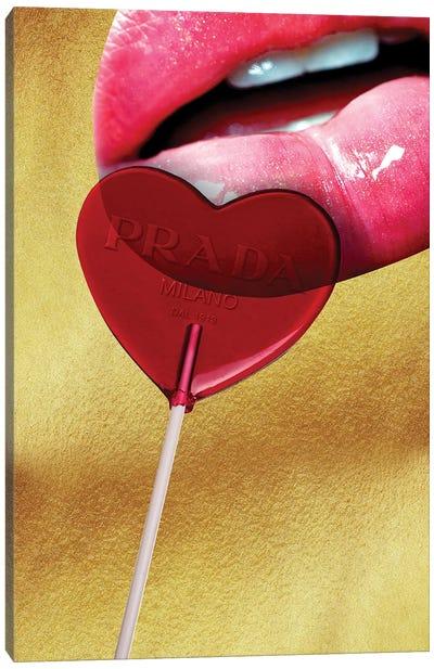 Prada Lollipop Canvas Art Print