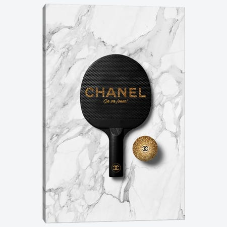 Chanel Ping Pong II Canvas Print #VNC6} by Alexandre Venancio Canvas Wall Art