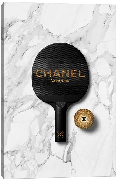 Chanel Ping Pong II Canvas Art Print