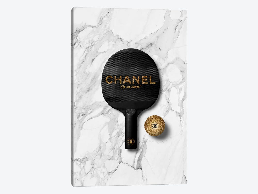 Chanel Ping Pong II by Alexandre Venancio 1-piece Art Print