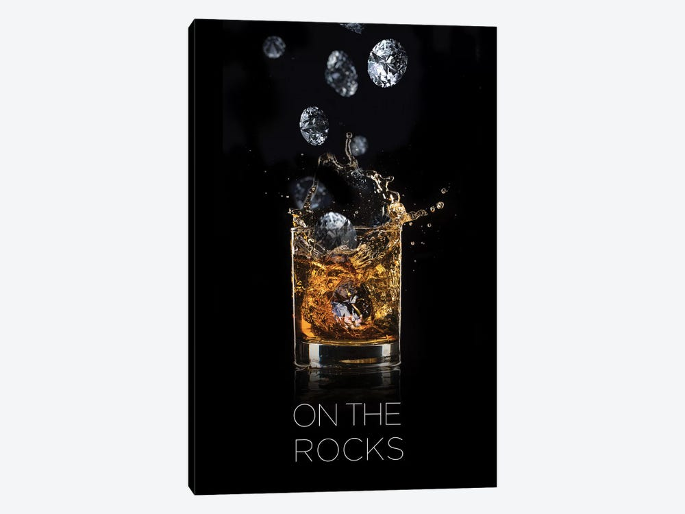 On The Rocks by Alexandre Venancio 1-piece Canvas Print