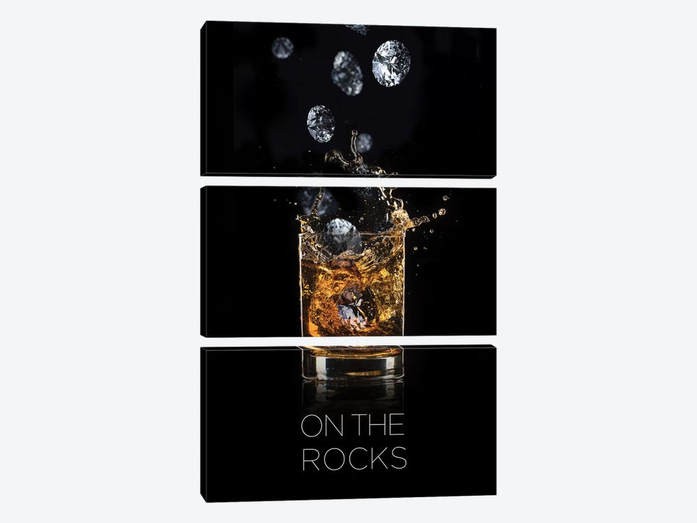 On The Rocks by Alexandre Venancio 3-piece Canvas Art Print