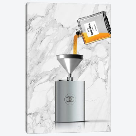 Drink Chanel Canvas Print #VNC7} by Alexandre Venancio Canvas Art