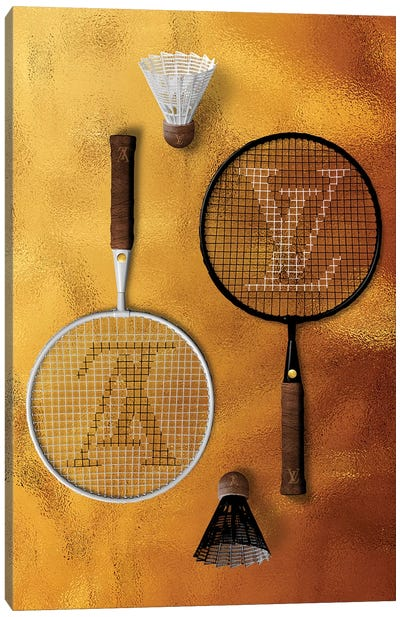 LV Racquete Canvas Art Print