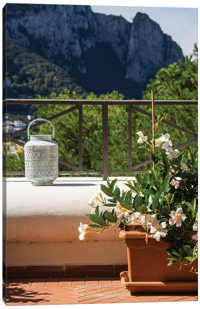 Balcony View Canvas Art Print