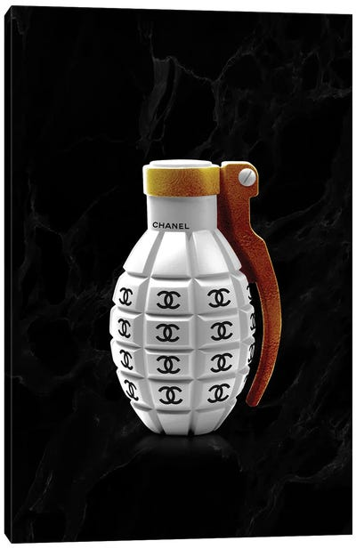 Chanel Grenade Canvas Art Print
