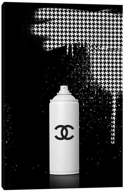Spray Chanel Canvas Art Print