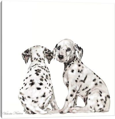Dalmations Canvas Art Print