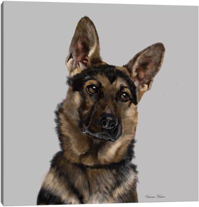 German Shepherd Canvas Art Print