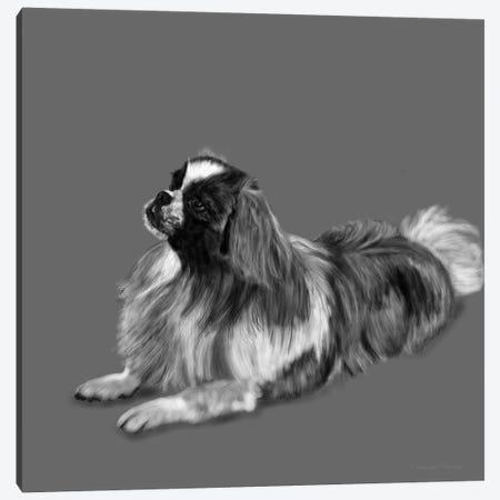 King Charles 3-Piece Canvas #VNE46} by Vicki Newton Canvas Art